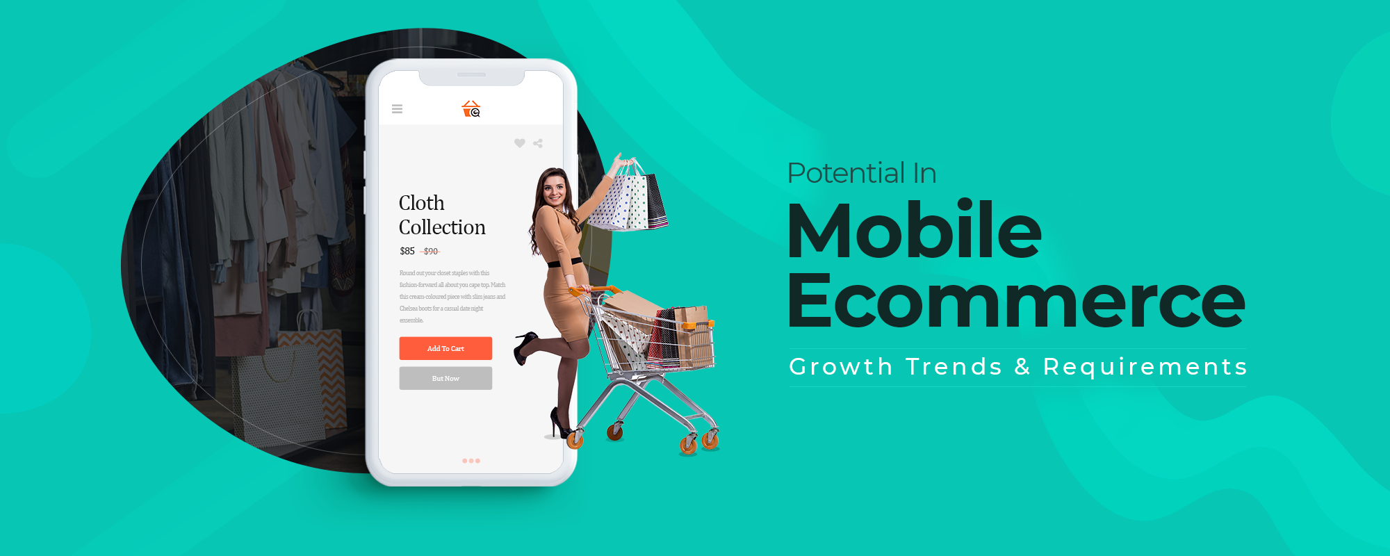 Potential in Mobile Commerce, Growth Trends and Requirements