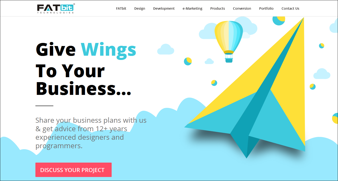 best web design company fatbit