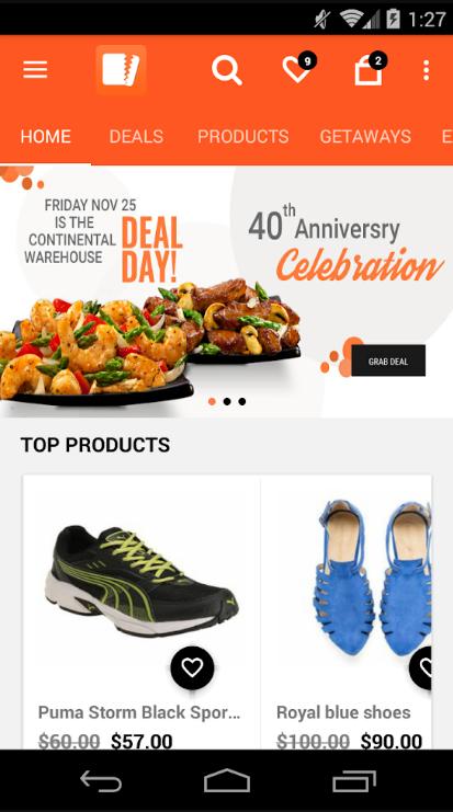Daily Deals eCommerce Marketplace Platform