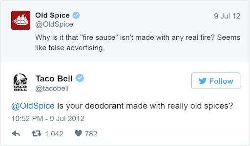 Old Spice vs Taco Bell