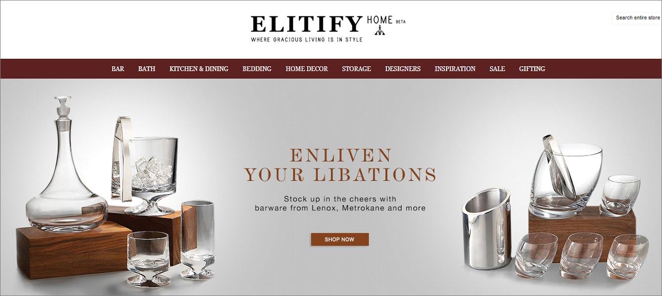 Elitify website