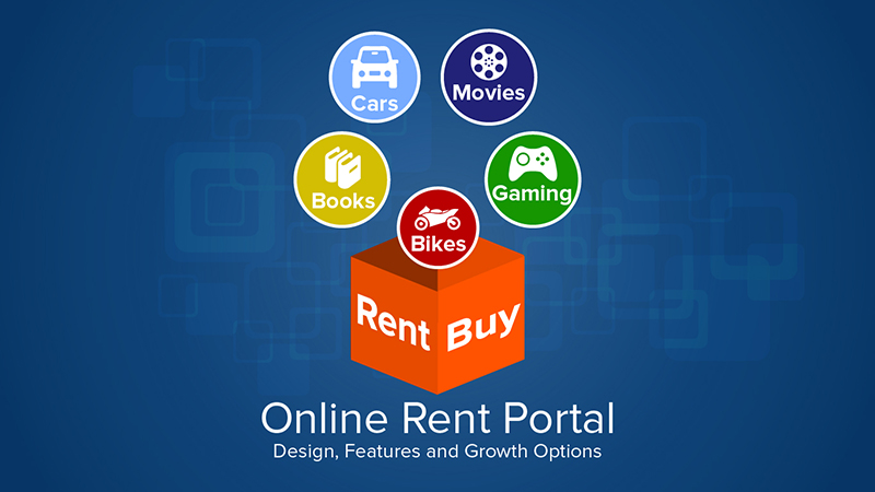Online rent portal