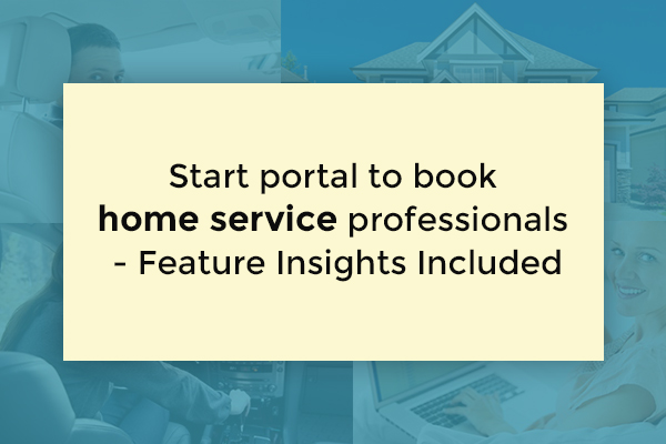 home service marketplace features