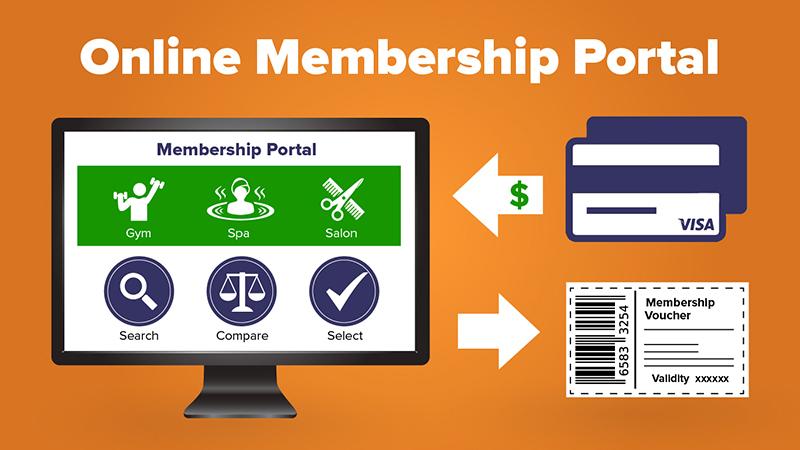 Online membership portal