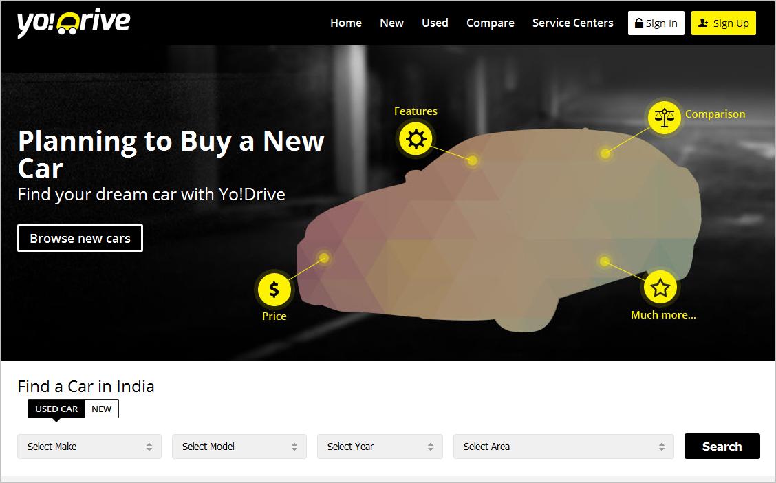 YoDrive Homepage