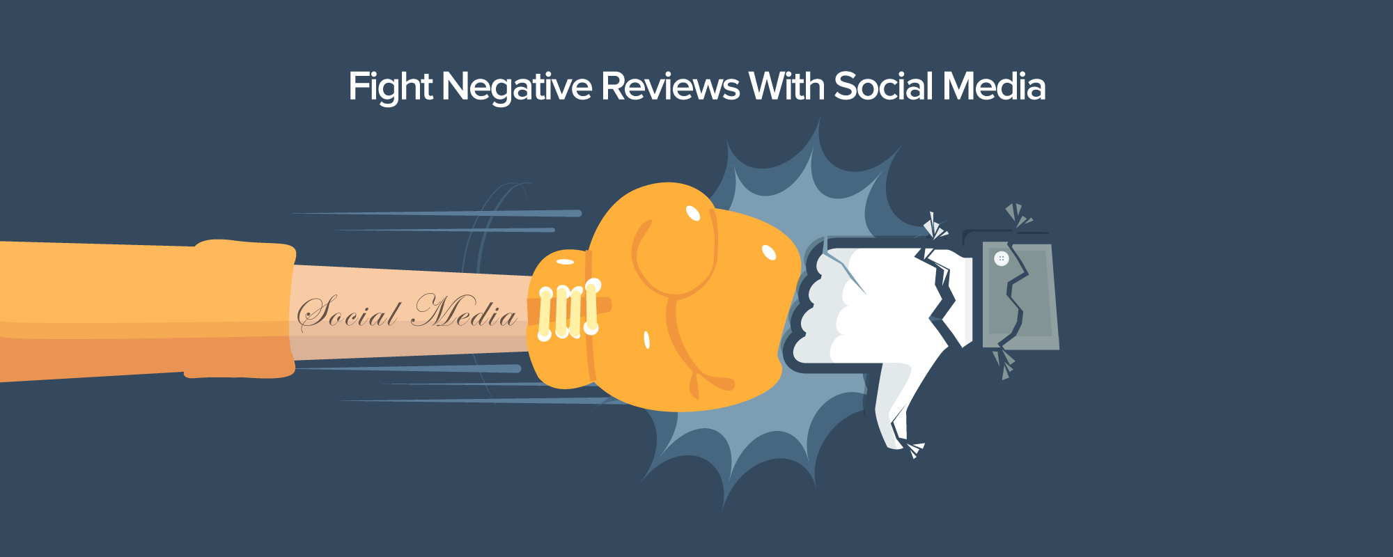 Fighting Negative Reviews and Feedbacks is Easier for B2B Businesses with Social Media