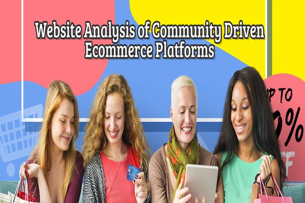 Community driven Ecommerce Site