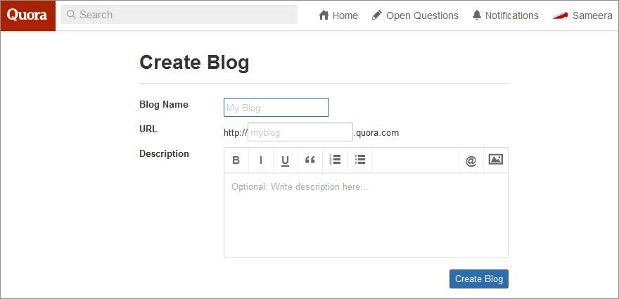 Quora_create_blog