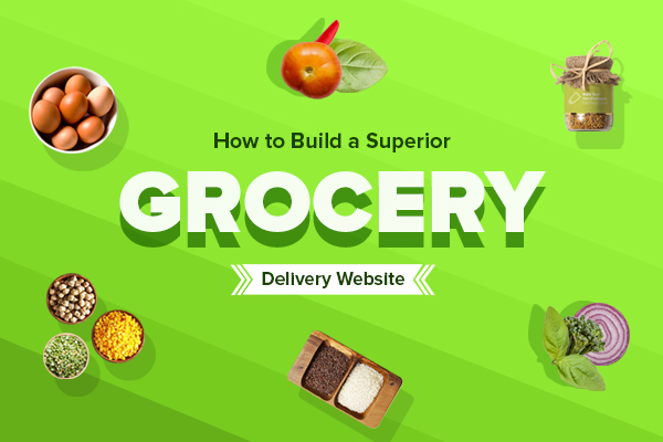 Grocery Delivery Website Features