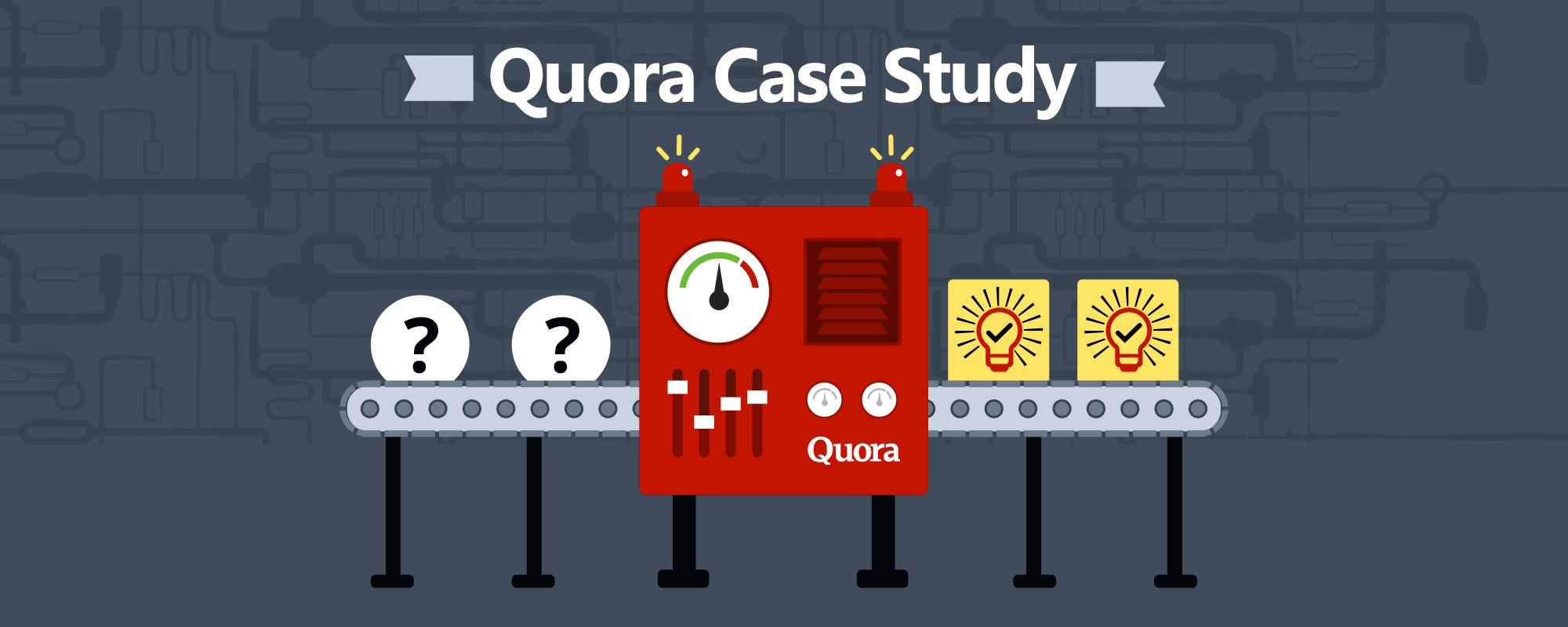 Quora Case Study – The Wonderful World of Quora