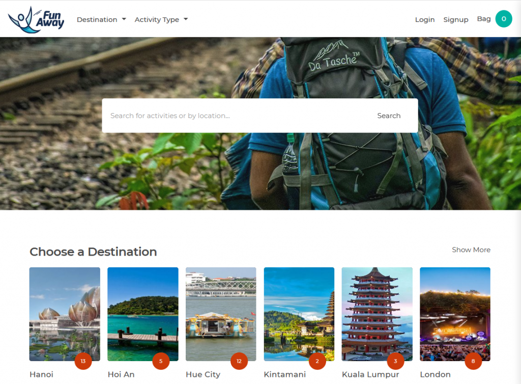 Adventure-Activity-Booking-Search