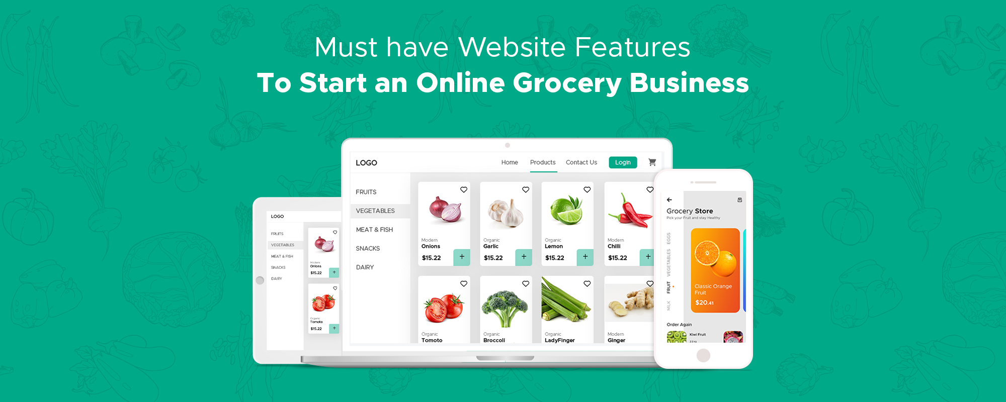 Launch Your Online Grocery Store – Business & Revenue Model, Features, and Key Players