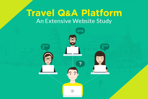 Travel question answer platform post image