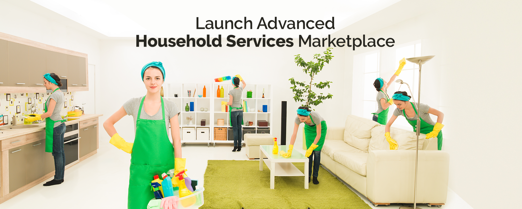 Script Features to Launch Advanced Household Services Marketplace