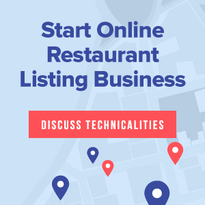 Launch online restaurant review booking business