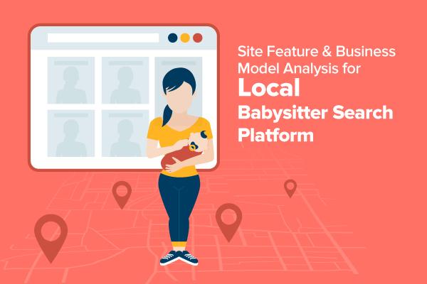 Local babysitter search platform