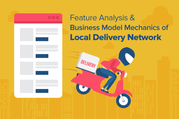 Local Delivery Website features