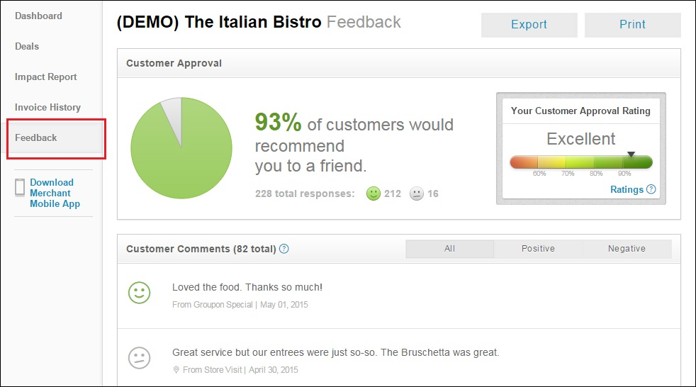 10-groupon-clone-feature-merchant-feedback