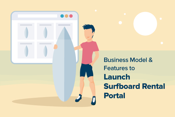 Online Surfboard Rental Business