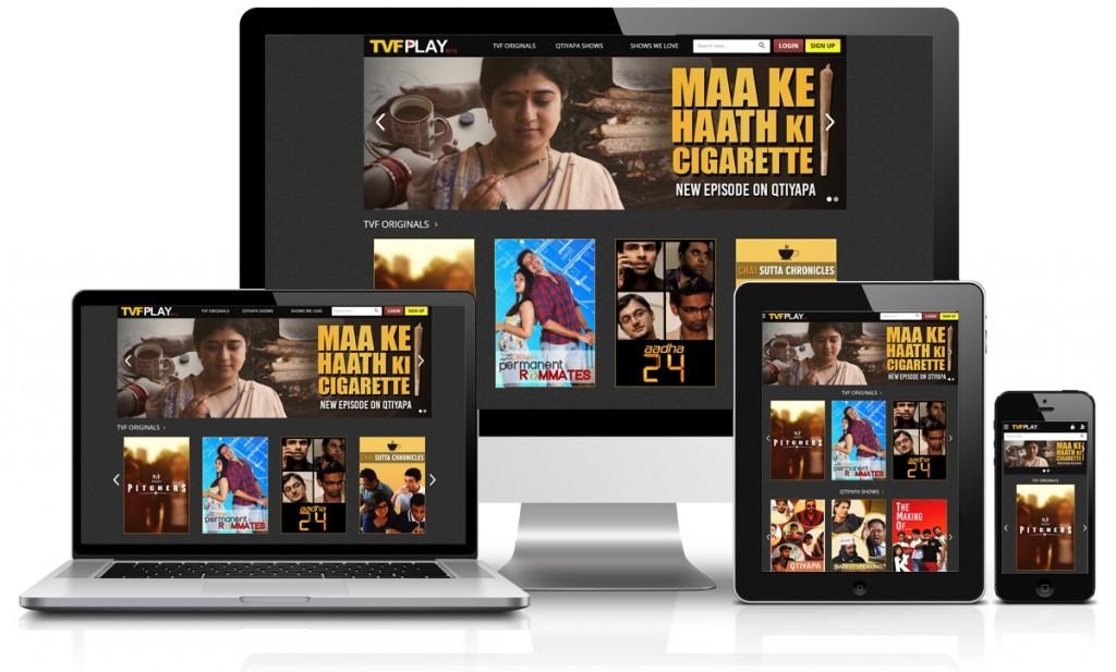 TVFPlay responsive wesbite design
