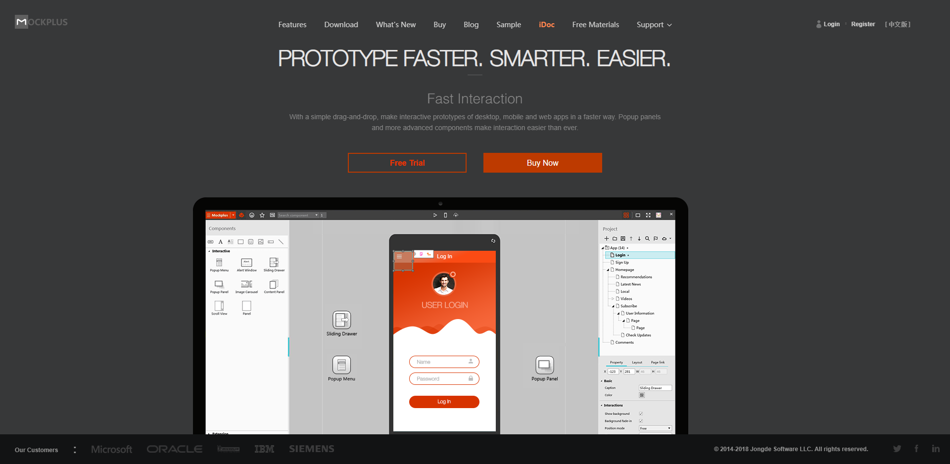 Prototype faster, smarter and easier with Mockplus
