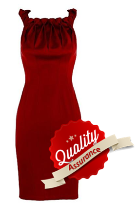 dress rental quality assurance