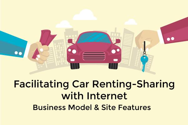 p2p car rental portal features