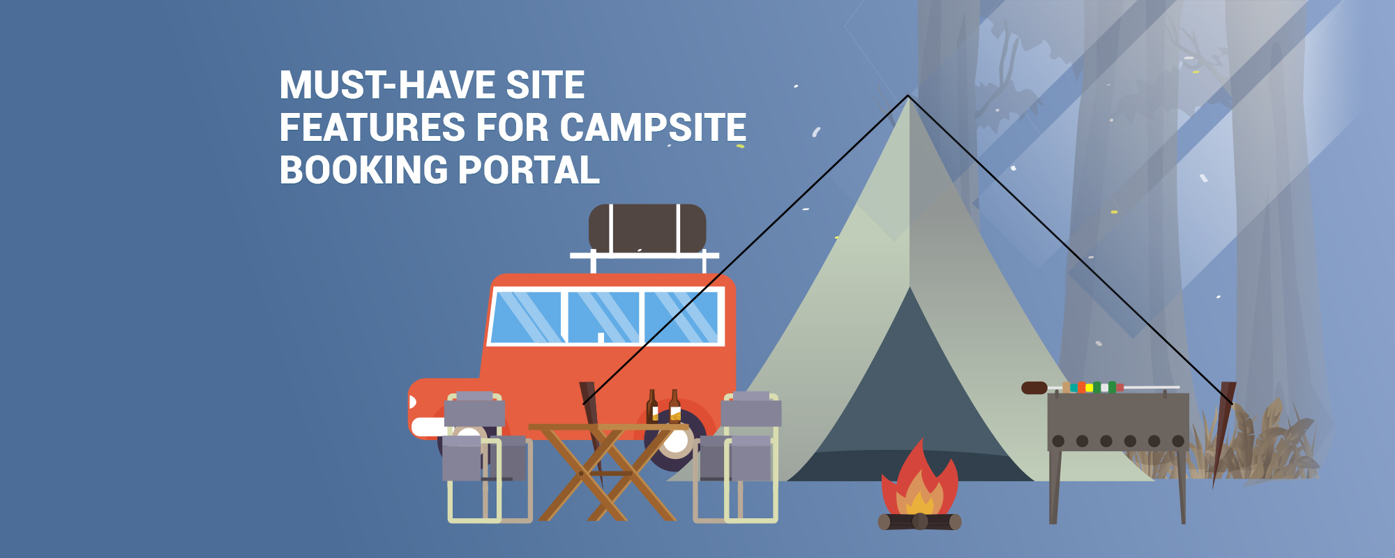 Build Platform to Rent Campsites and Open Spaces – Check Website Features and Business Model