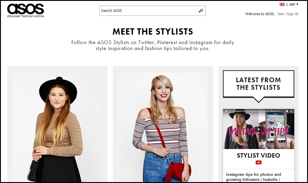 Fashion site engagement tips strategy