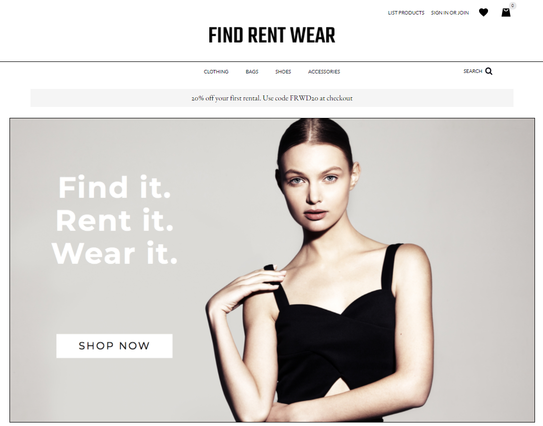 Find Rent Wear