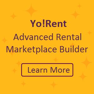 Yo!Rent Marketplace builder CTA
