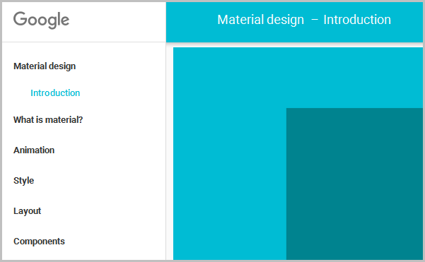 material design concept