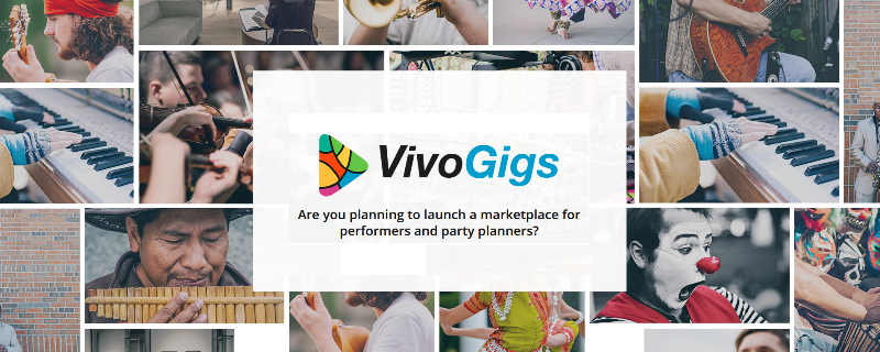 Vivogigs entertainer booking marketplace