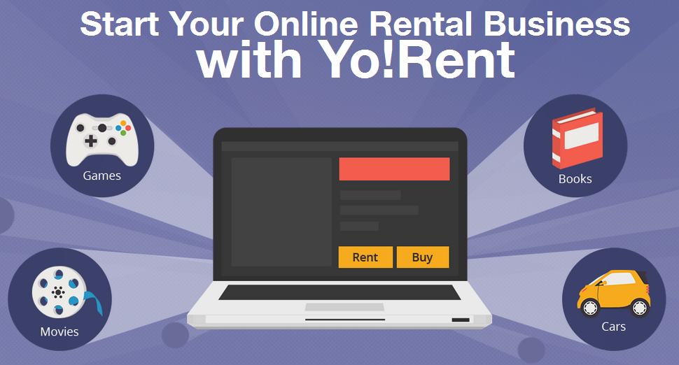 YoRent online rental portal builder