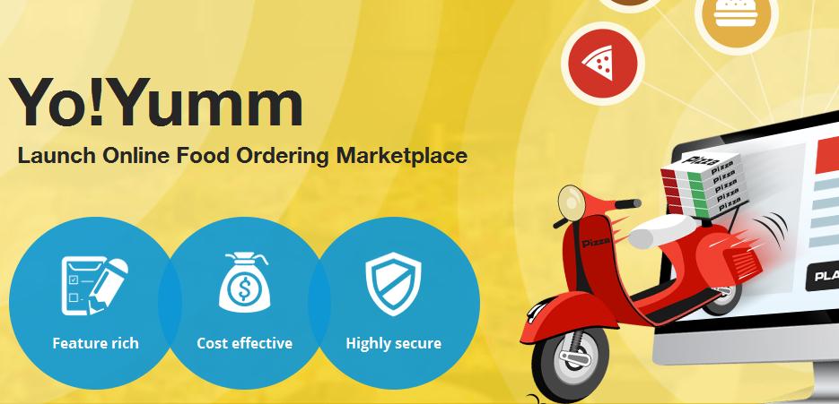 YoYumm food ordering marketplace builder