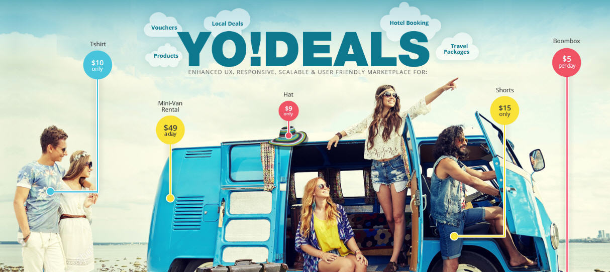 Yodeals system