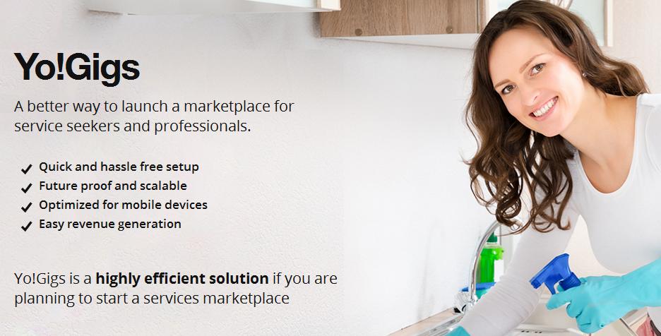 Yogigs ondemand services marketplace builder