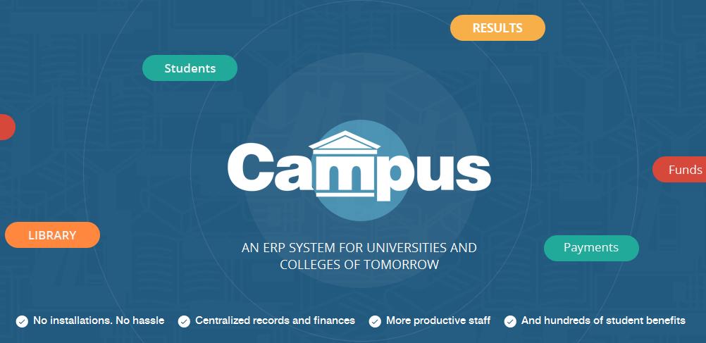 campus university erp system