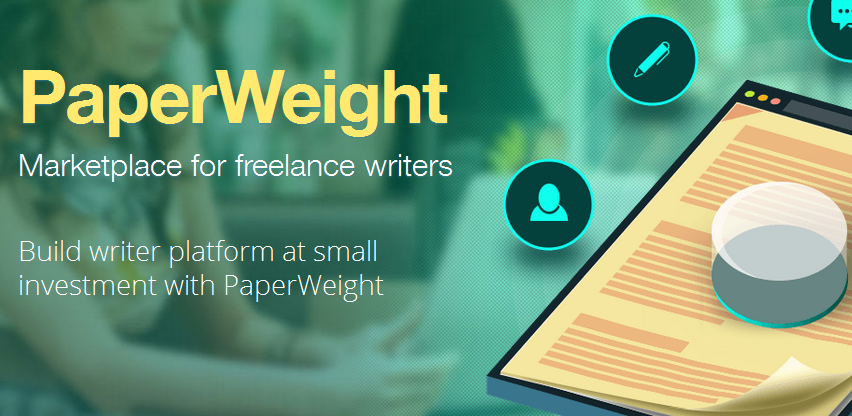 paperweight marketplace for freelance writers