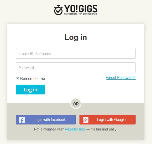 service marketplace portal login