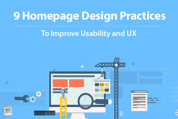Homepage Design Practices