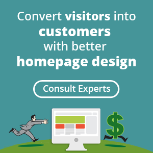 Consult Experts for Homepage Design