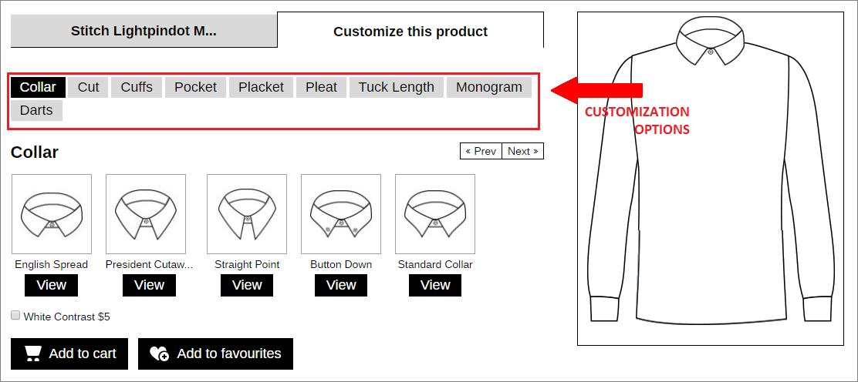 Product Customization in Stitch
