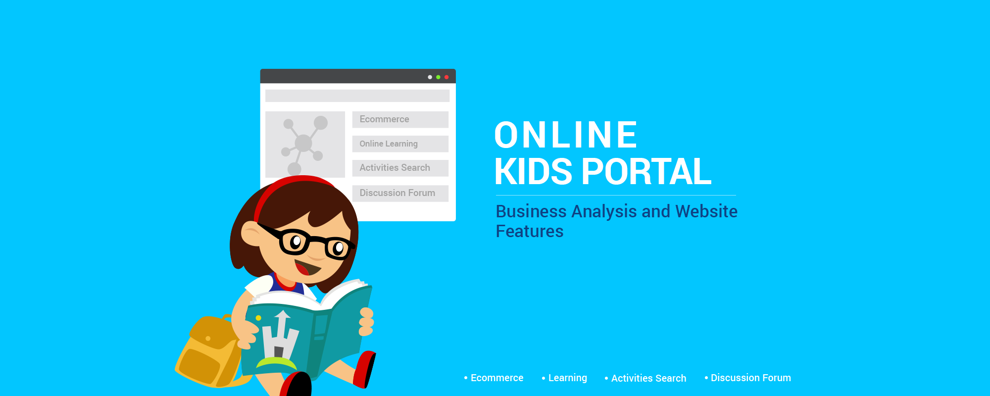 Business Model & Website Features of Online Portal for Kids and Parents