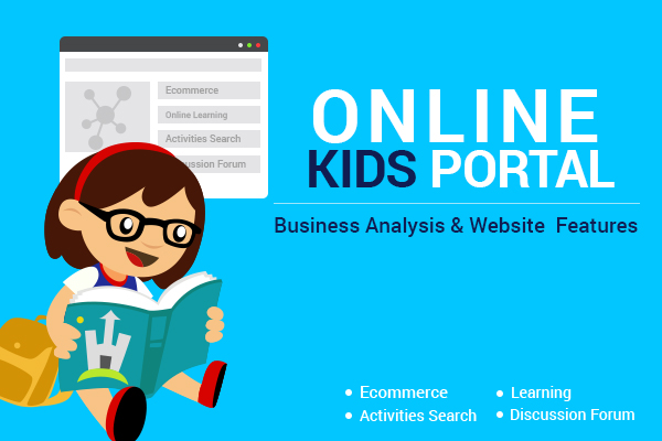 Business Model Website Features Of Online Portal For Kids And Parents