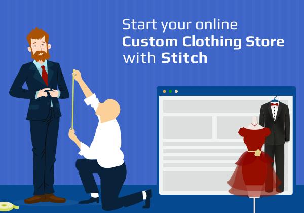 Online Custom Clothing Store