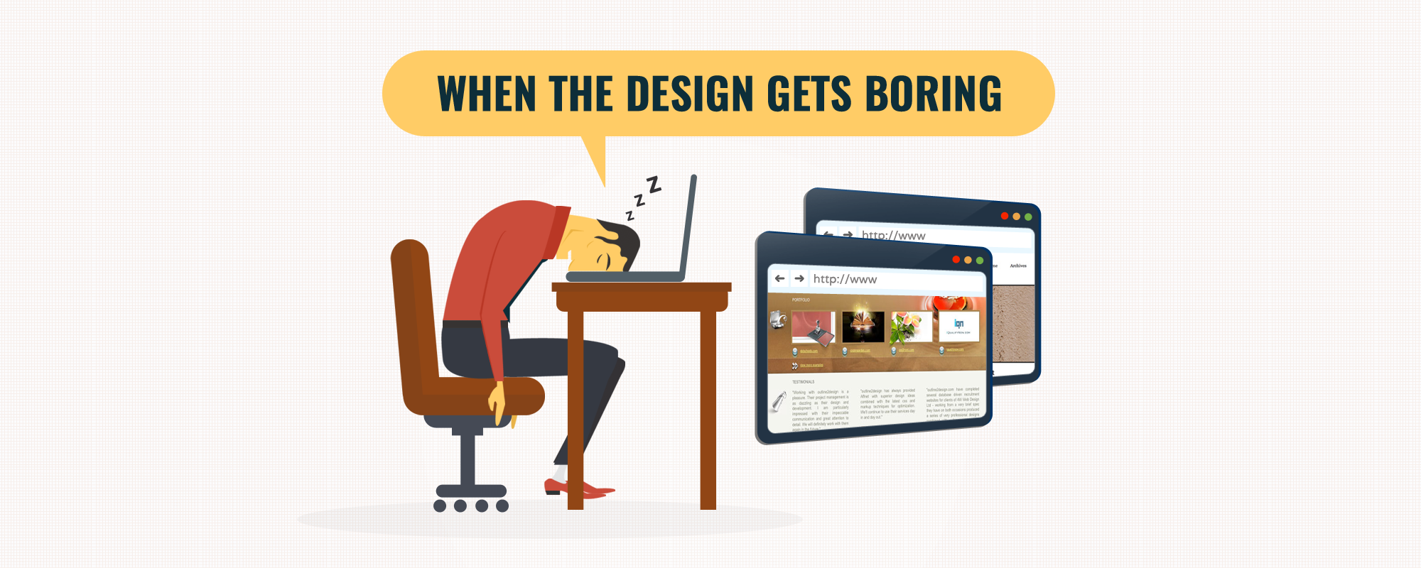 Is Web Design Getting Monotonous due to Growing Popularity of Bootstraps?