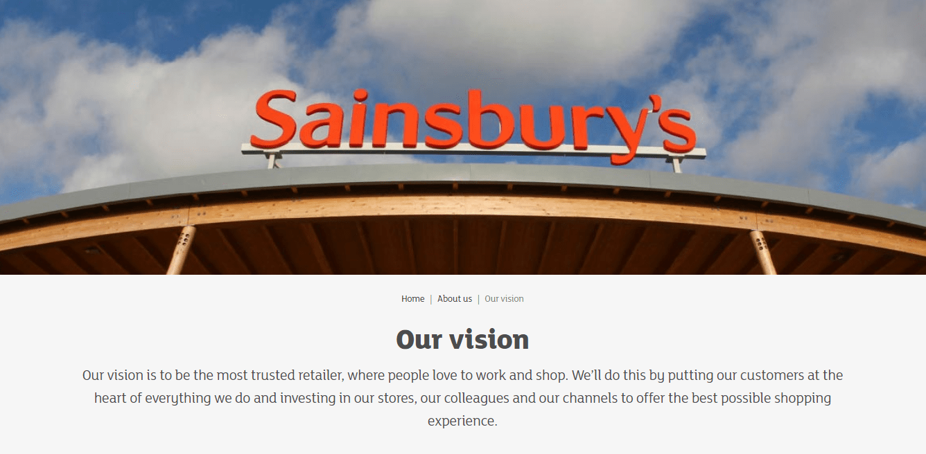 Our vision _ Sainsbury's
