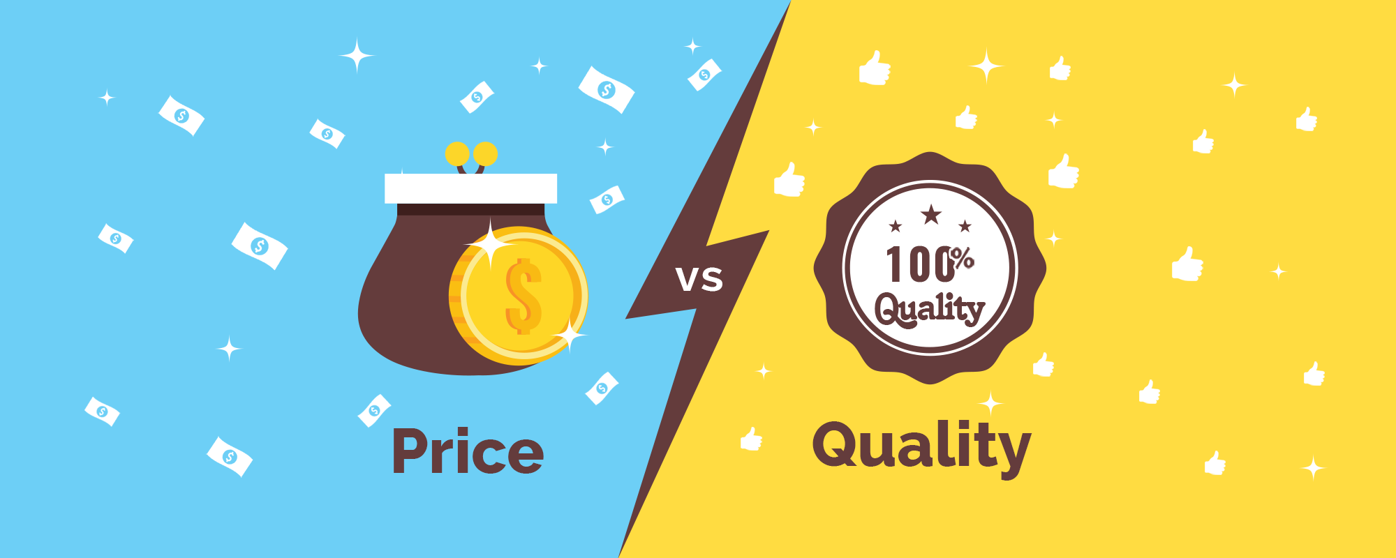 Why online businesses must choose quality over pricing?