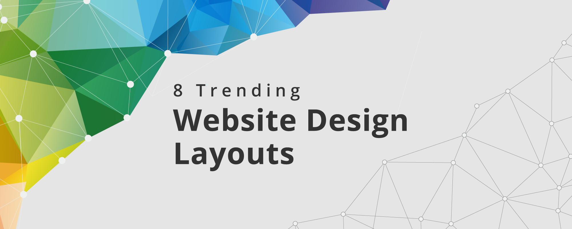 8 Trending Website Design Patterns For Online Businesses